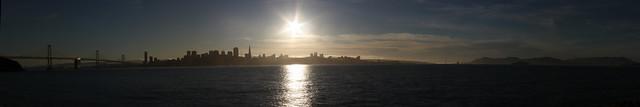 Cliche collection: Bay bridge, city, fog, city, golden gate bridge, treasure island