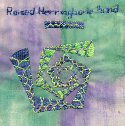 Raised Herringbone Band | by cynthiabonnell