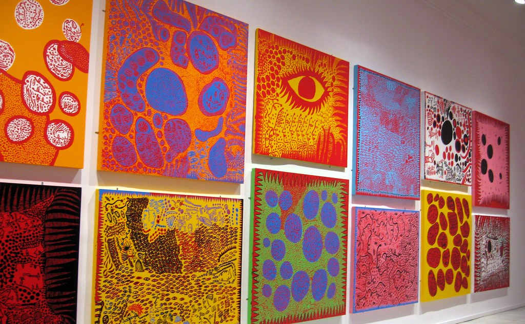 Image result for yayoi kusama paintings