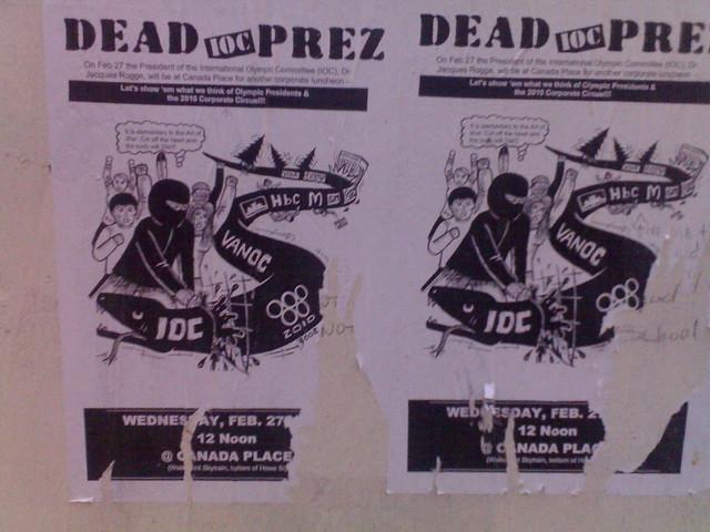 Dead IOC Prez