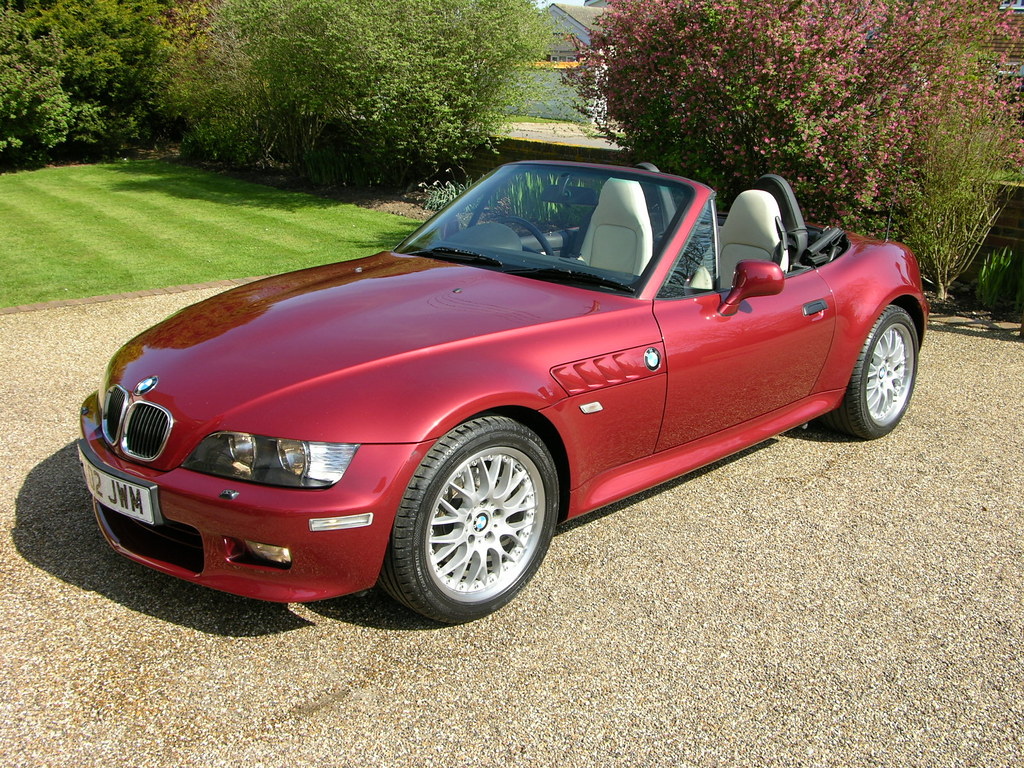 BMW Z3 3.0i Calypso Red 2002