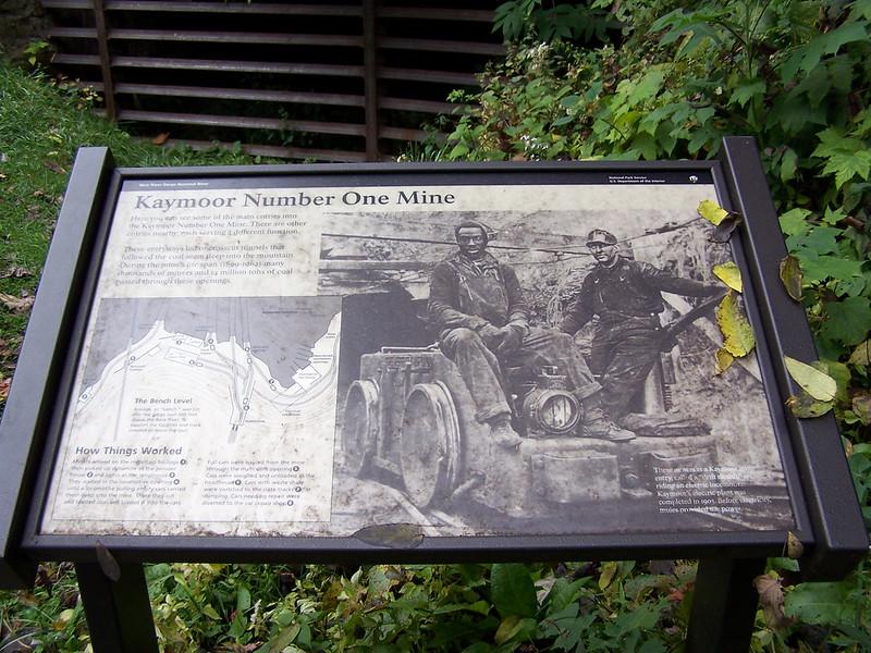 Kaymoor 1 Mine Display 10-9-2005 Photo