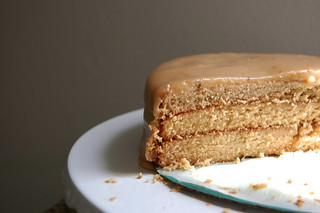 perfectly crumbed caramel cake | by mercedes l.