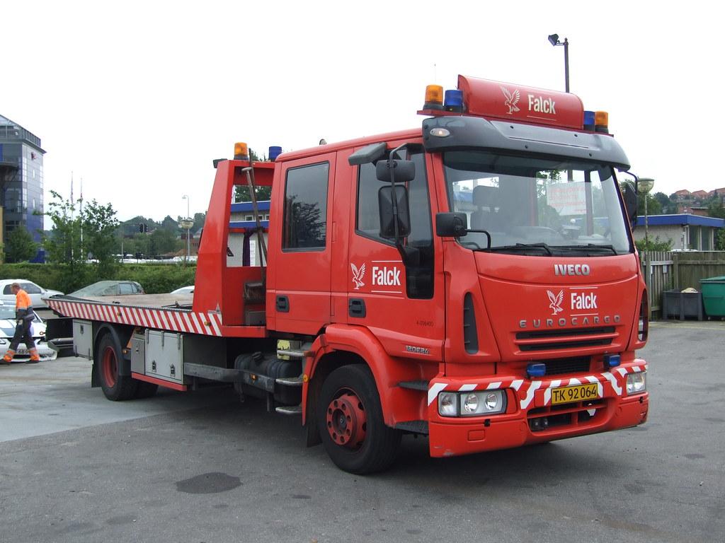 Iveco Eurocard Falck Auto Transporter Iveco Eurocard Falck