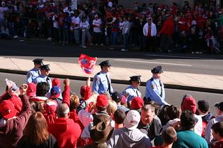 Cops Were Cheered   by Cavalier92