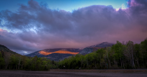 morning sky sunlight white mountains nature clouds sunrise washington cloudy newhampshire whitemountains mount mountwashington