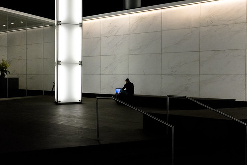 Solitude and a laptop | by wwward0