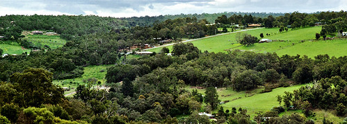 valley field farm landscape rural large forest jeffc aussiejeff araluen roleystone perth westernaustralia wa