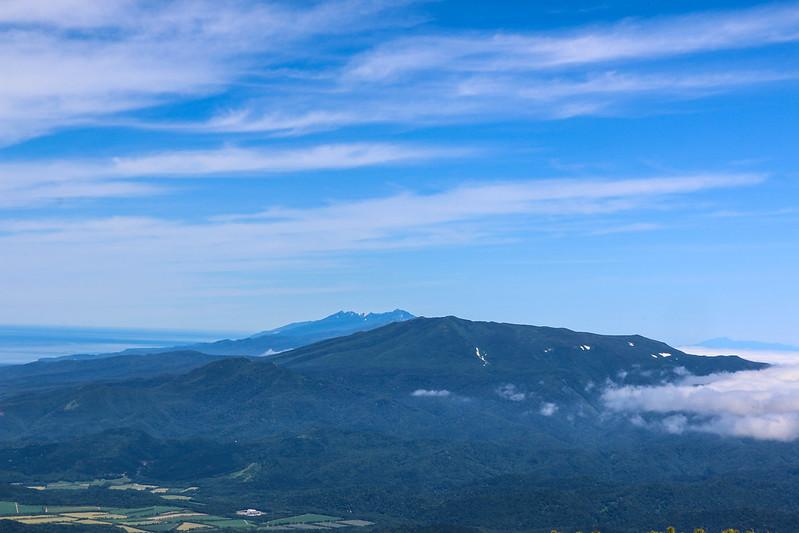 斜里岳から知床半島