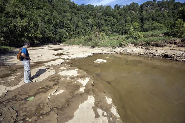 Spring Creek bedrock, Evan Hart, Overton County, Tennessee