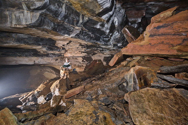Ric Finch, Tires-to-Spare Cave, Putnam County, Tennessee