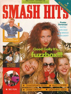 Smash Hits, August 23, 1989