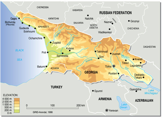Georgia, topographic map | The country of Georgia is located ... on georgia russia map, georgia usa, republic of georgia map, georgia topographic map, georgia ukraine map, azerbaijan map, georgia's map, eastern europe map, georgia brewery map, georgia county map, nation of georgia map, georgia europe, georgia regions map, world map, armenia map, georgia political map, chechnya map, georgia state map, georgia the country, georgia country people,