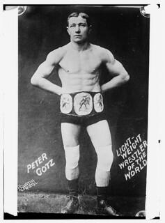 Peter Gotz - lightweight wrestler of the world  (LOC)