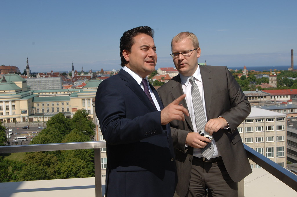 Ali Babacan and Urmas Paet in Tallinn