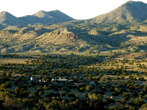 madrid sunset mountain newmexico hills valley nm juniper cerrillos buffalomountain turquoisetrail rogersville santafecounty roedel cerrilloshills highcountrynews waldogulch