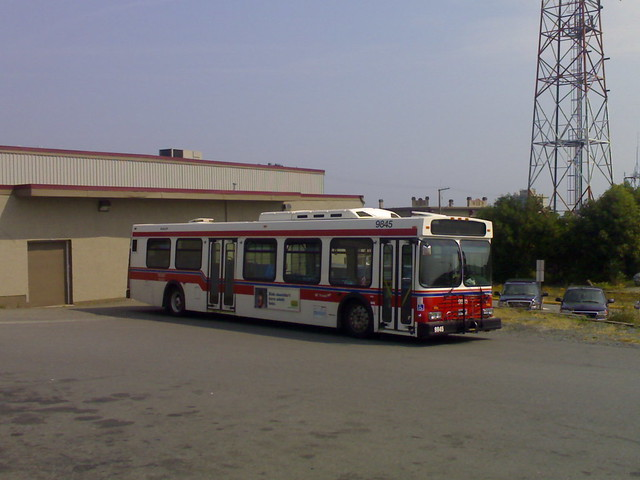 Nanaimo Regional Transit Bus