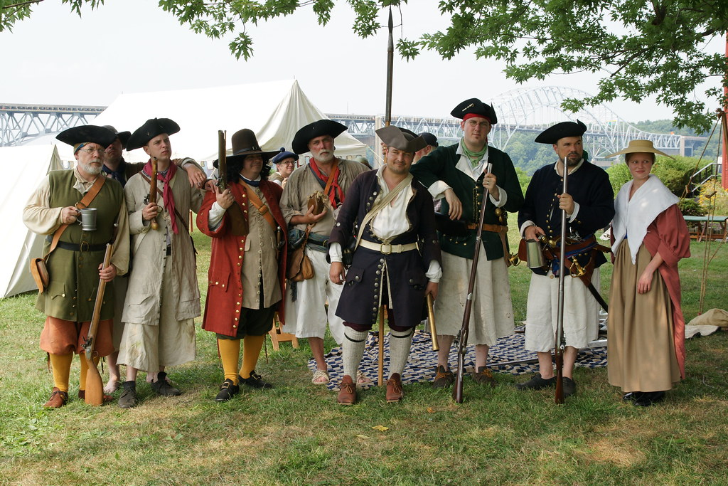 Pirate Encampment | A reenactment by The Pirate Brethren at … | Flickr