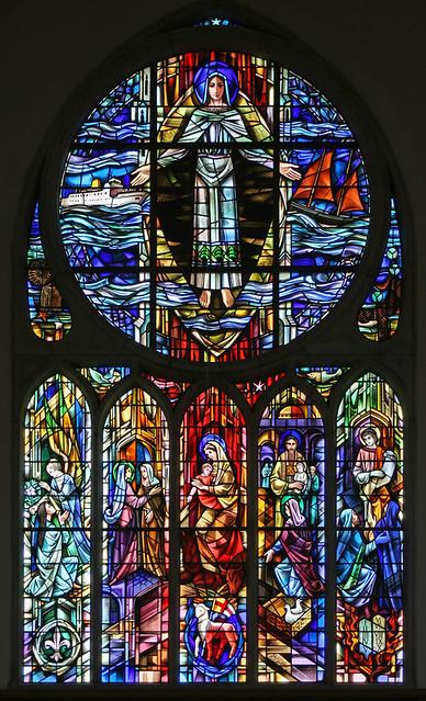 East window, St. Mary's, Penzance