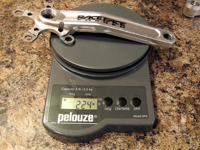 Race Face Turbine LP Right Crank Arm Weight | 5-bolt, 94/58m… | Flickr