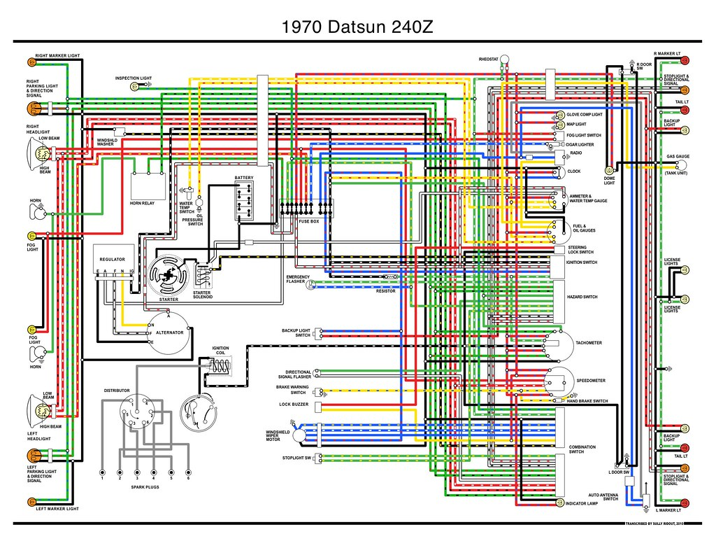 Datsun Z Wiring Diagram on
