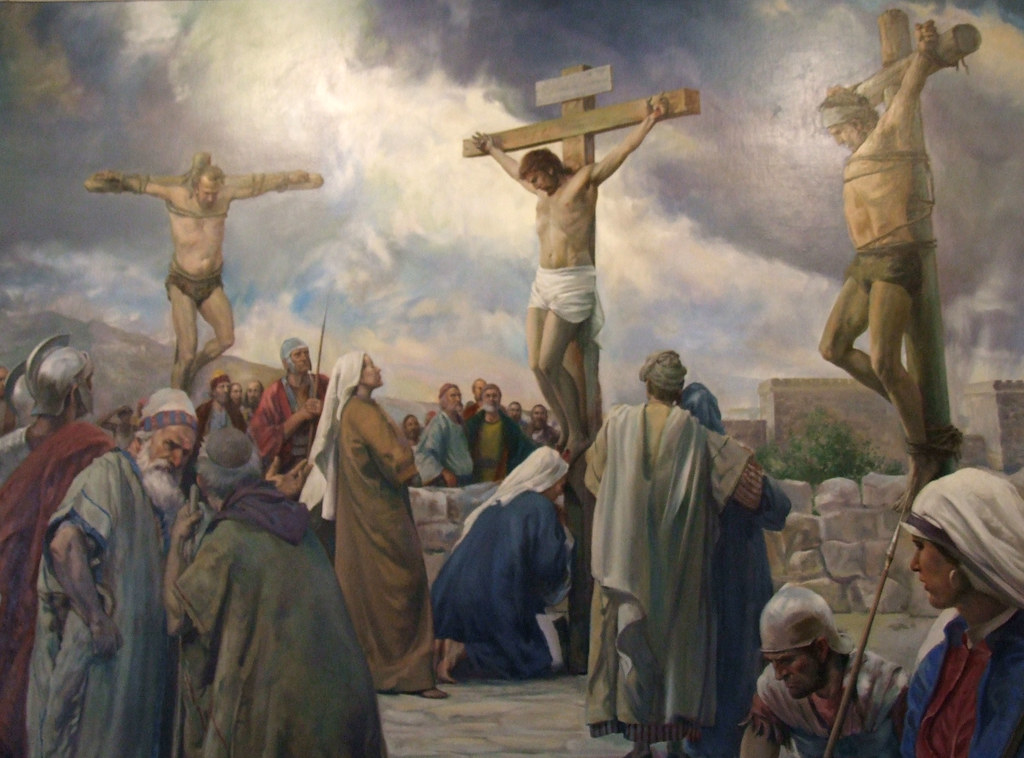 The Crucifixion of Jesus | Jesus was crucified on a hill cal… | Flickr