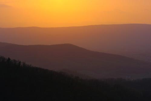 sunset nature golden virginia eod va 2008 mountians skylinedrive endofday shenandoahnationalpark naturesfinest snp onlythebestare
