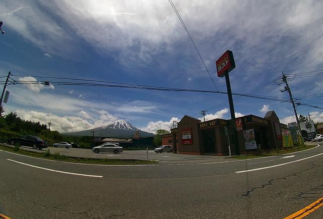 Gusto and Mount Fuji