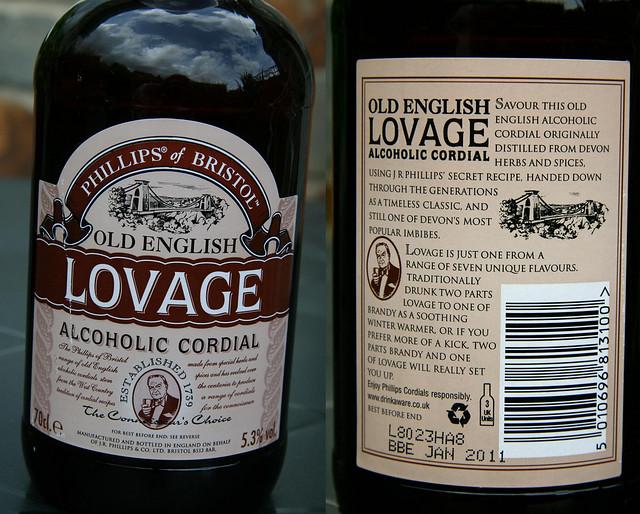 Lovage Alcoholic Cordial Hasta Copete Tiene La Weona Flickr