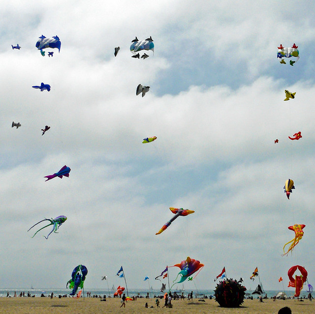 I hope this marks the opening of giant kite season!