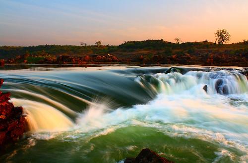 india water canon river eos waterfall narmada jabalpur 450d canonefs1855mmf3556is aksveer