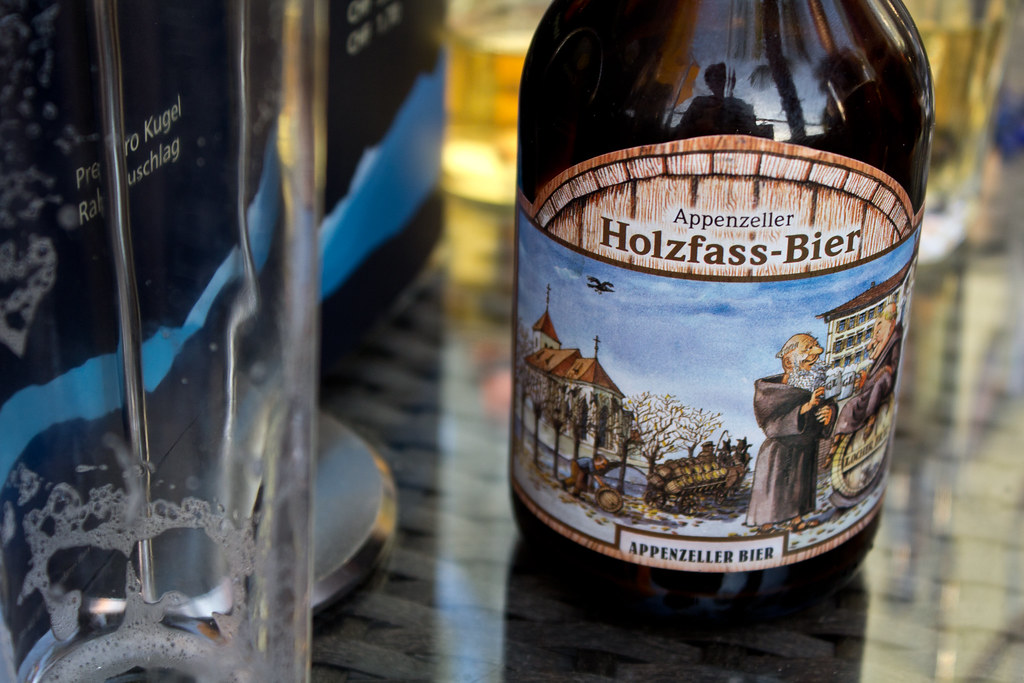 Bier Im Holzfass