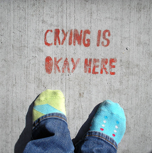 crying is okay here | by the bonnie blues