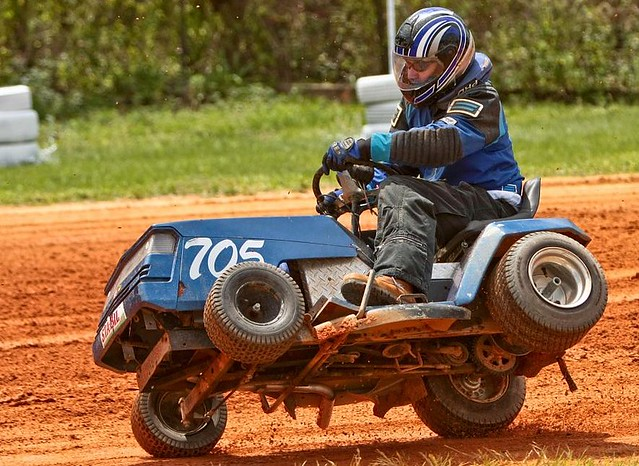 Lawn Mower Racing >> Lawnmower Racing This Was My First Lm Race And It Definite