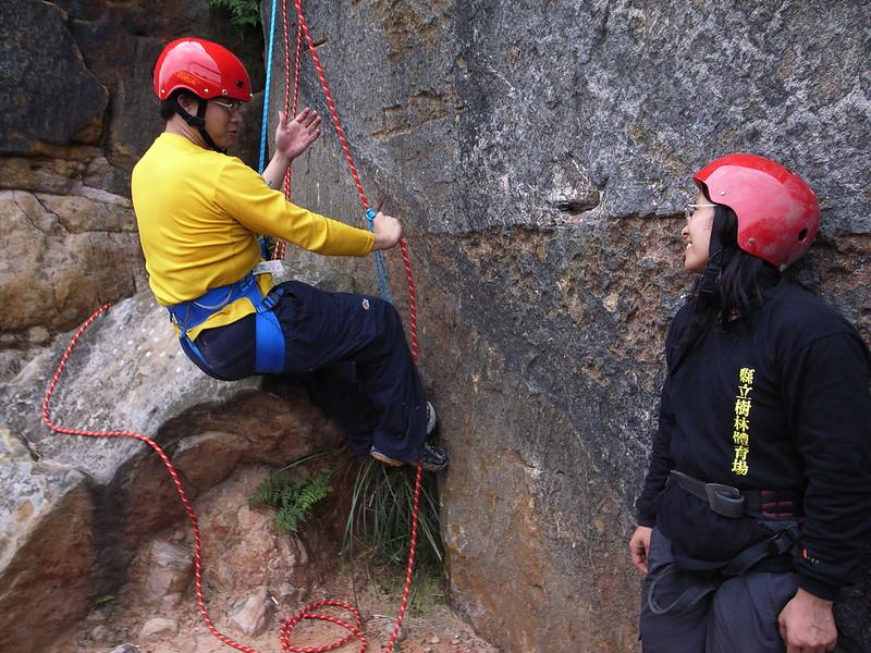 2008上半年山茼蒿嚮導訓練營:普魯士攀登