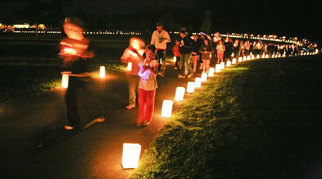 """Cancer Relay for Life"""