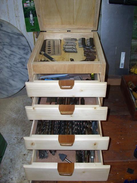 Drill Accessory Box