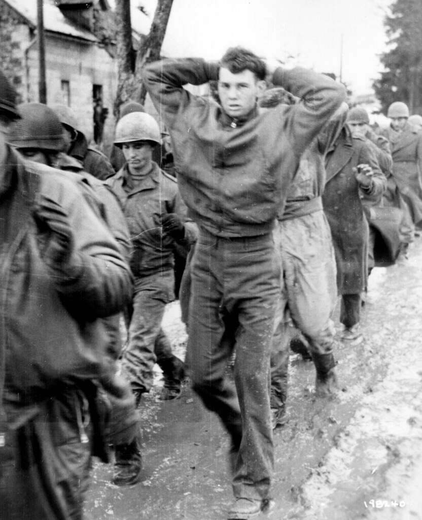 Germans captured these American soldiers |