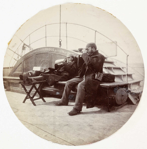 Two men on the deck of a ship | by National Science and Media Museum
