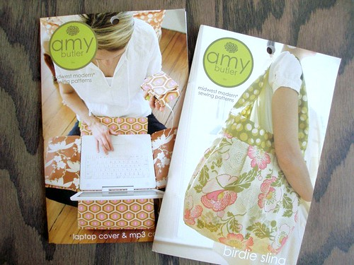 New Amy Butler Patterns - Laptop Case & Birdie Sling | by the workroom