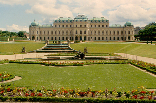 Vienna - Schloss Belvedere