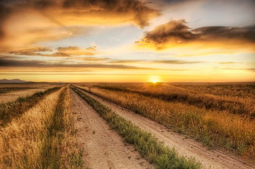 The Lonely Road to the Dinosaur Dig | by Trey Ratcliff