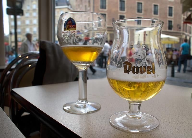 Cervezas belgas / Belgian beer