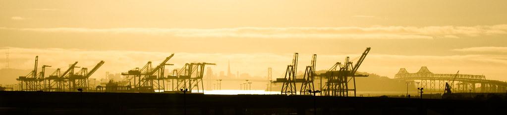 The Oakland Docks by ToastyKen