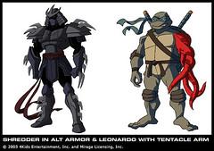 Shredder 3 0 Armor Third Season Nightmare Leo W Flickr