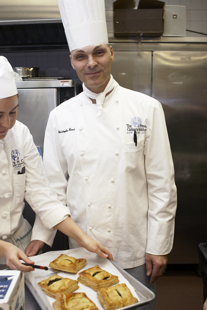 FCI Pastry Chef Instructor Christopher Ciresi