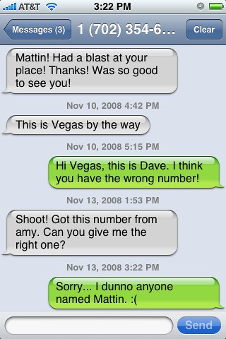 Random text messages  Random text message? No real prize is
