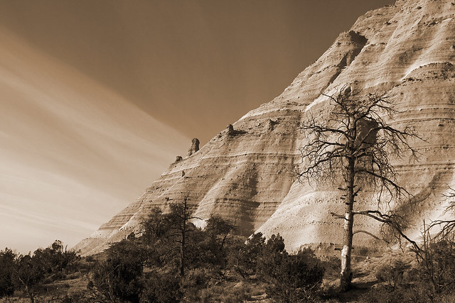 Tent Rocks National Monument (Sepia)