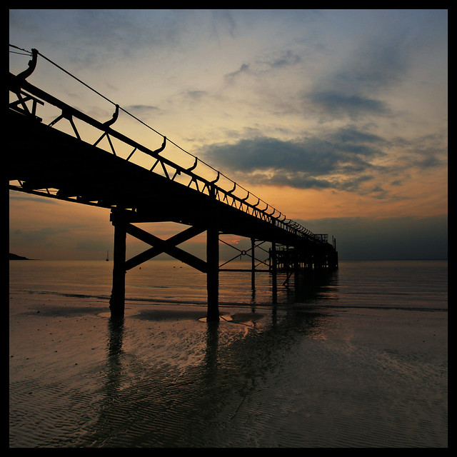 Sunset XI - Totland Pier