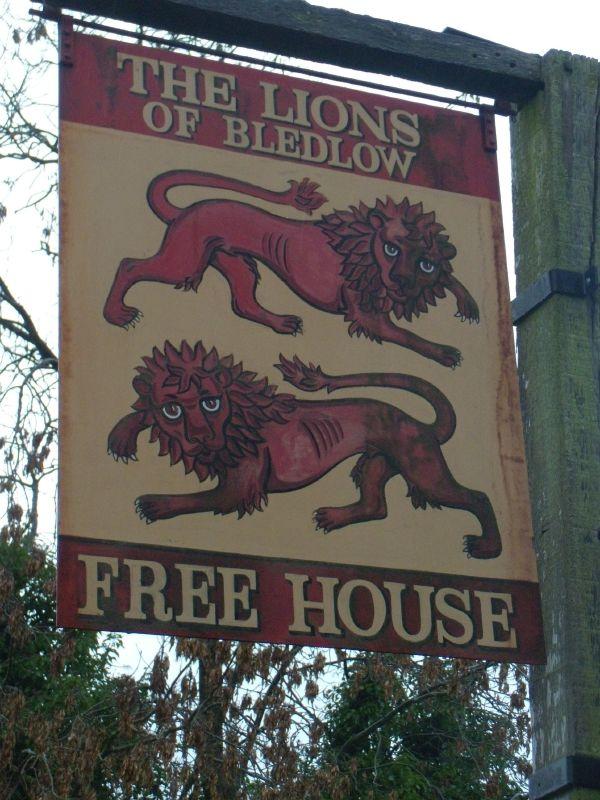 The Lions Saunderton circular via Bledlow